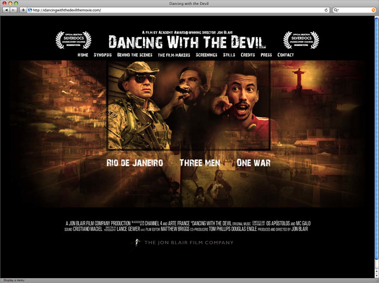 Dancing With The Devil Website
